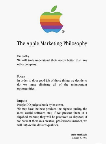 The Apple Marketing Philosophy